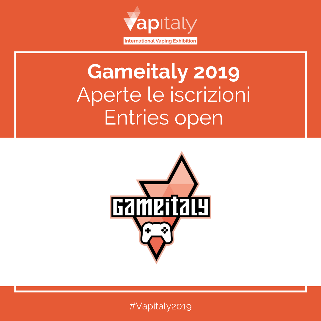Entries open for Gameitaly, the first edition of the tournament at Vapitaly 2019