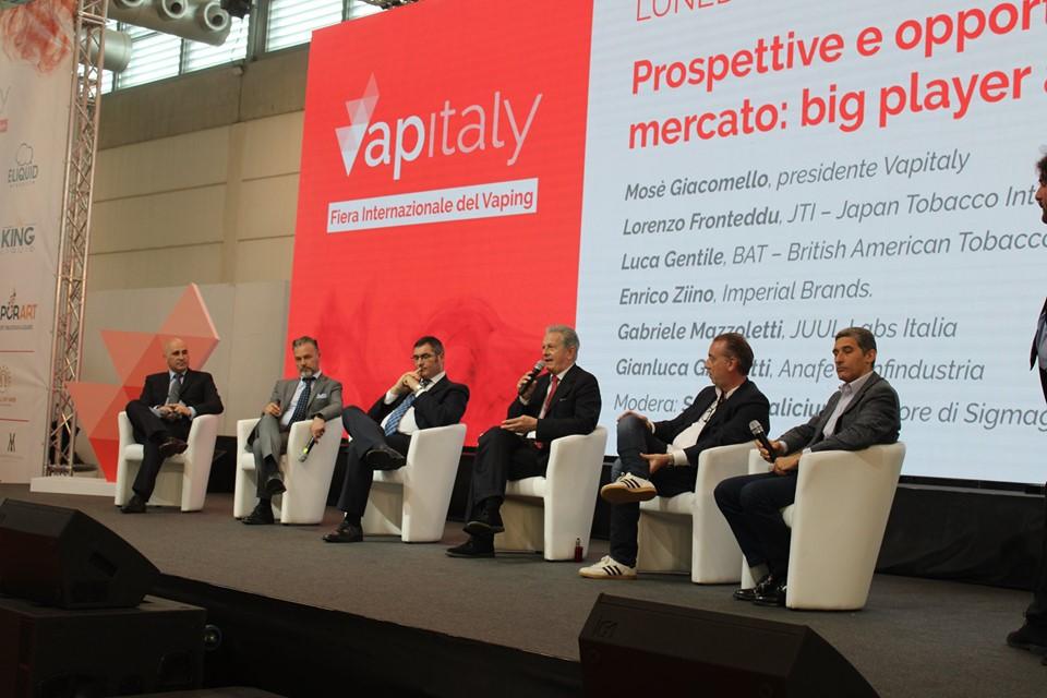 22.731 visitatori per la quinta edizione di Vapitaly dalla visita del ministro Salvini, al primo convegno in italia con le major del tabacco e del vaping