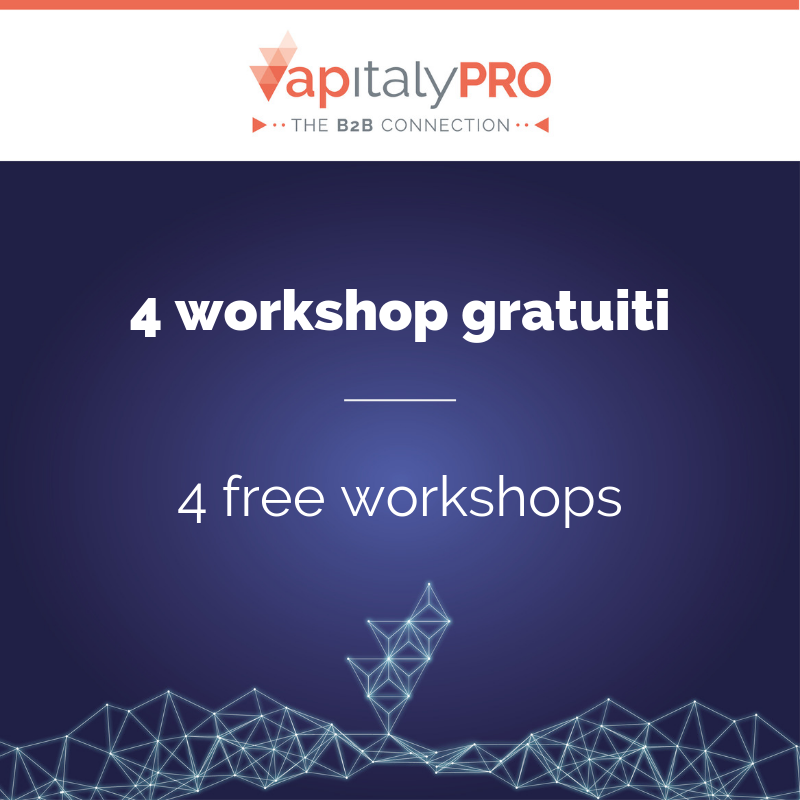 Training and Business. At VapitalyPRO, four free workshops on the key topics of vaping