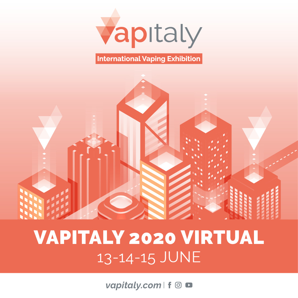 VAPITALY 2020 VIRTUAL In mid-June the only european event dedicated to Vaping