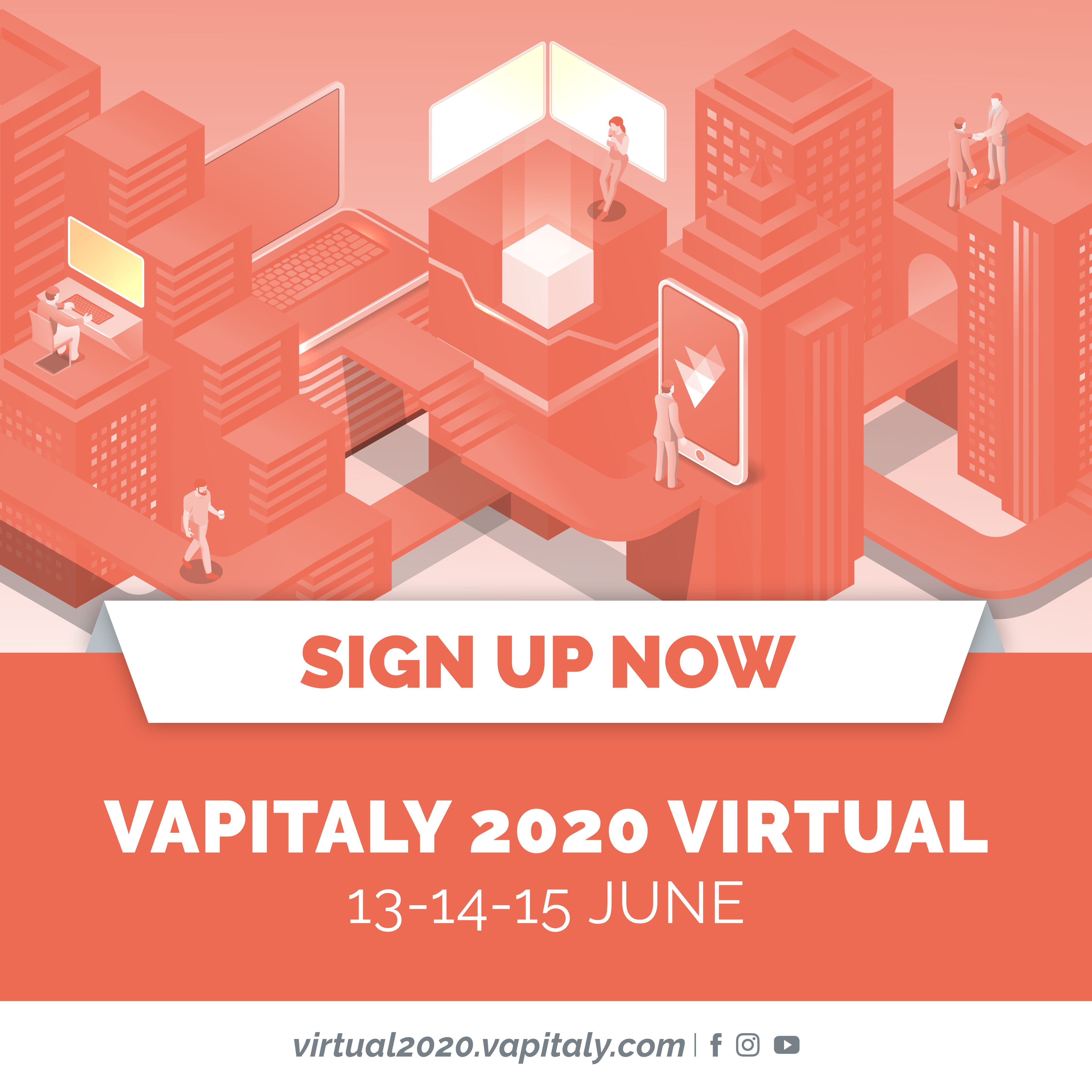 VAPITALY 2020 VIRTUAL Registration open, book your place in the front line