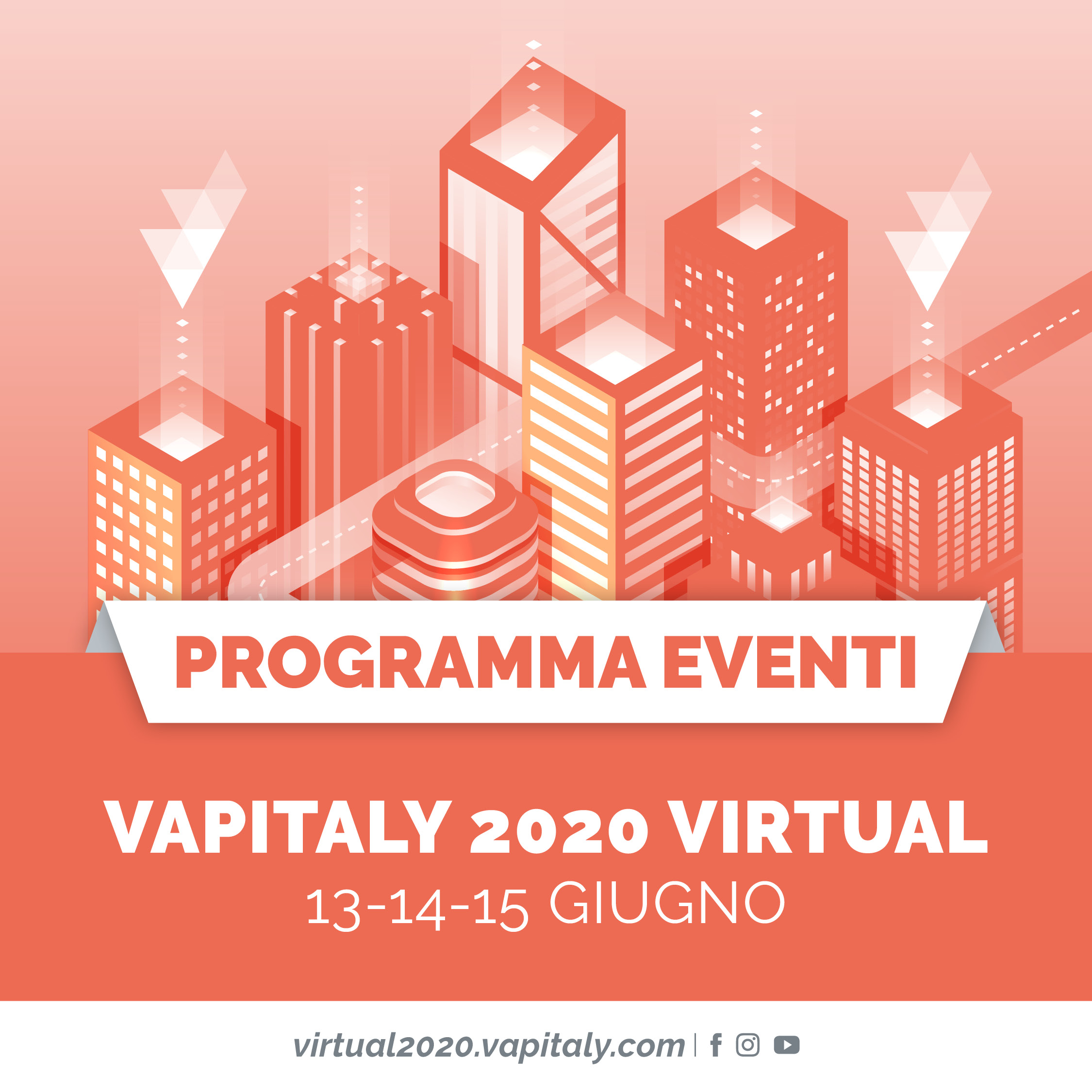 Vapitaly 2020 Virtual, the first virtual event in Europe dedicated to the Vaping sector, is about to begin!